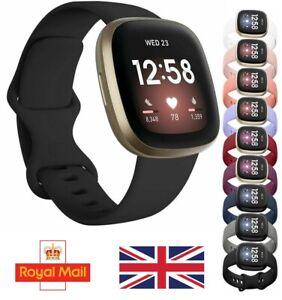 For Fitbit VERSA 3 / SENSE Strap Wristband WristWatch Replacement Accessory UK