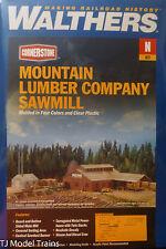Walthers N #933-3236 Mountain Lumber Co. Sawmill -- Kit