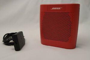 Bose Soundlink Color Bluetooth Speaker - Red Excellent Condition