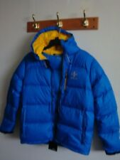 NWT New Men RALPH LAUREN RLX Quilted Down Jacket Horizon Blue L