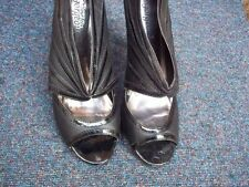 New Look Peep Toes Synthetic Leather Heels for Women