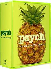 Psych: The Complete Series Season 1 2 3 4 5 6 7 8 ( DVD, 2014, 31-Disc Set)