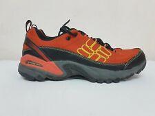 Columbia Men's Techlite Orange / Black Ommi Grip Running Hiking Shoes Size: 9.5
