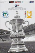 WIGAN v MK DONS 2013/14 FA CUP MINT PROGRAMME
