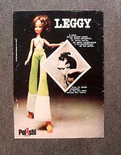 [GCG] N287 - Advertising Pubblicità - 1974 - POLISTIL , LEGGY