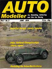 Auto Modeller Vol 1 No 3 Jun 1979 Citroen Traction MV Agusta Aston Martin Ulster