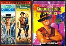 CROCODILE DUNDEE TRILOGY - 1 2 3  PAUL HOGAN Region 1.
