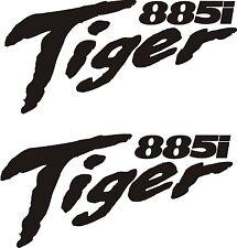 Triumph Tiger 885i  Vinyl Stickers x 2