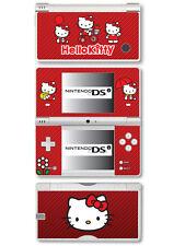 Bonjour Kitty Vinyl Skin Sticker pour Nintendo DSi - rouge