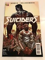 Suiciders #1 DC Vertigo Comic 1st Print 2015 unread NM