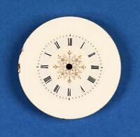 Zifferblatt f Taschenuhr Uhr EMAIL TASCHENUHRZIFFERBLATT D33,8 pocket watch dial