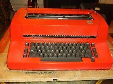 IBM  Self-Correcting    Selectric II  RE-FURBISHED Red