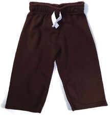 Garanimals Sweatpants Boy's Size 12 Months Brown Elastic Waistband Warm Soft