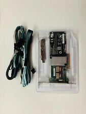 LSI 9264-8i 6GB PCI-E RAID CONTROLLER 256M RAID 5 6 8087 to (4)7 -Pin SATA BBU