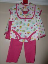 Isabelle Rose Cute Cupcake  Collection Newborn 5 Piece Set nwt