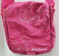 American Girl Purse Pink Messenger Crossbody Doll Girls Travel Tote Bag