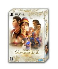 PS4 Shenmue I & II First Limited Edition w/Sound Collection CD Japan HSN-0056