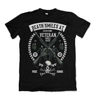 Veteran mens t shirt Royal Navy British Marines Top Army Forces S-3XL