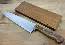 """Vintage Wenger Chefs Knife 10"""" Blade 9862 Made In Switzerland Sharp"""