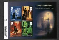 Great Britain 2020 Sherlock Holmes min sheet - Mysteries-mnh-Literature