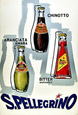 Bevande SAN PELLEGRINO poster stampati