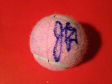 Julia Goerges Pink Wilson Hope Cancer Research Tennis Ball Signed Auto