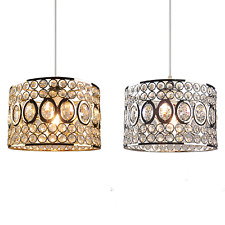 Modern Glass Crystal Ceiling Pendant Fitting Shade Jewel Ball Chandelier Shades