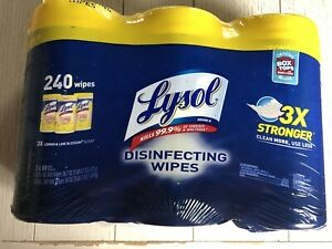 Brand New Sealed Lysl (3 pack Canisters) *240 Total Sheets- FAST SHIPPING