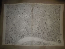 London Central circa 1863 sheetMAPantique map Dispatch Atlas 1863 Framed 40 more