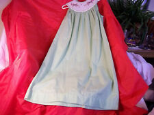 Remember Nguyen Smocked Dress Size 5 Lizard Check Short Sleeve