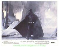 THE EMPIRE STRIKES BACK MOVIE POSTER 3 Orig. LOBBY CARD 'S 8 x 10 STAR WARS Film