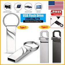USB 3.0 2TB Flash Drive Metal Drive Flash Memory USB Stick U Disk Date Storage