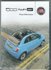 FIAT 500 TWIN AIR ORIGINALE, premere pacchetto informativo con DVD