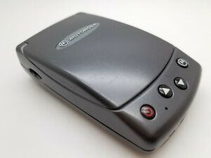 Rare Motorola Accompli A6188 Grey (Unlocked) Mobile Flip Phone FREE POST