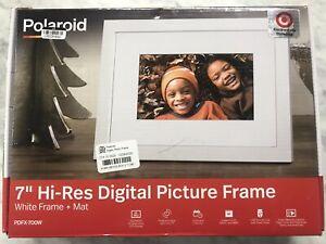 "Poloroid 7"" Hi-res Digital Picture Frame"
