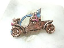 MINIATURE PLASTIC ANTIQUE CAR PIN VINTAGE VEHICLE TRANSPORTATION