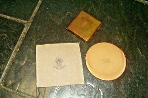 Vintage JEWELCREST & VOGUE Pouch/Compact Holder-Gold Tone Metal Card Holder?