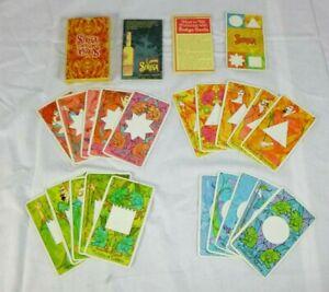 Rare Vtg 1967 Strega Liqueur Fortune Telling Tarot Cards Op Art Complete Deck