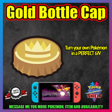 GOLD BOTTLE CAP ✨ Change your Pokemon to Perfect 6IV ✨ Pokemon Sword And Shield