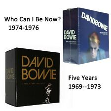 David Bowie Five Years 1969-1973 Who Can I Be Now 1974-1976 CD Box Set