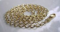 GENUINE STAMPED 9CT GOLD CURB CHAIN GF CHEAPEST ON EBAY ref {014}