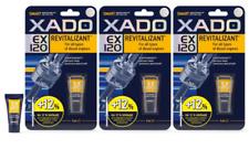 XADO EX120 gel Revitalizant Diesel Engine Oil Additive Treatments SET 3 pqs