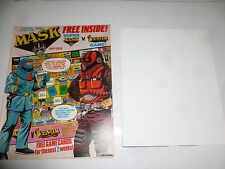 MASK Comic - No 53 - Date 16/04/1988 - UK Paper Comic (Inc Game Poster)