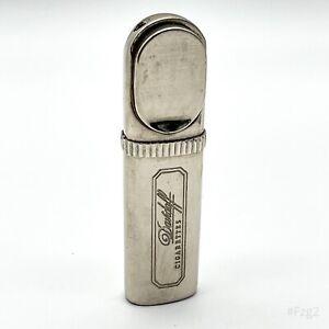 Vintage Davidoff Cigarettes Feuerzeug mit Flaschenöffner aus Sammlung Silber 8cm