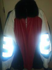 Men's Custom 8 Ball Leather Jacket Size 5xl