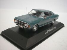 Opel Rekord C Coupe 1966 Blue 1/43 maxichamps 940046121 New