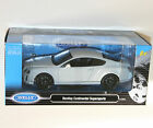 Welly - BENTLEY CONTINENTAL SUPERSPORTS (White) Die Cast Model - Scale 1:24