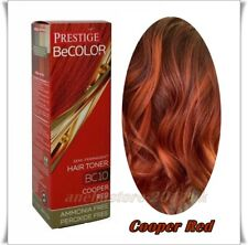 Prestige  Be Color BC10 Cooper Red Semi Permanent Hair Toner Ammonia & Peroxide