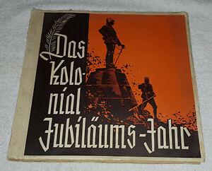 Das Kolonial Jubiläums-Jahr 1934 komplett Deutsche Großeinkaufs-Gesellschaft GEG