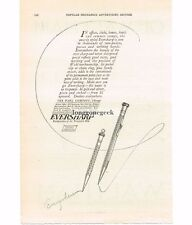 1920 Eversharp Pencils Mechanical Wahl Co. Chicago Vintage Print Ad